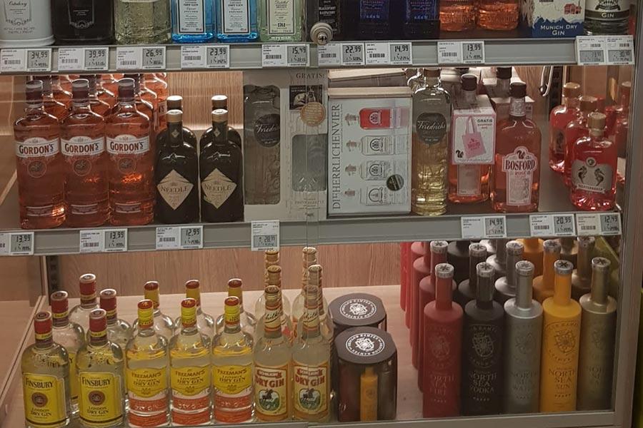 Alkoholische Getränke von REWE
