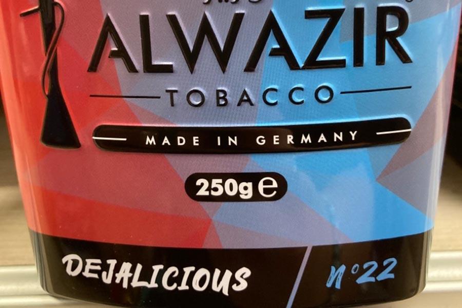Alwazir Tobacco im REWE-Markt Thietz